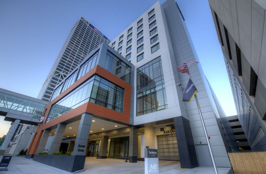 Westin Hotel Wall Panel System Installed By CSE